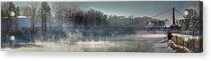 Two Cent Bridge At -5f Acrylic Print