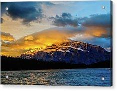 Two Jack Lake, Banff National Park, Alberta, Canada Acrylic Print