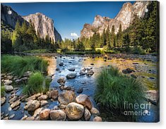 Typical View Of The Yosemite National Acrylic Print