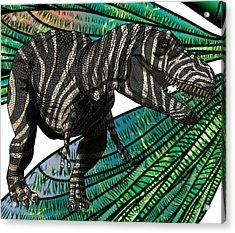 Tyrannosaurus Takes Wings Acrylic Print