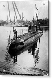 U-boat Acrylic Print by Hulton Archive