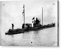U-boat Acrylic Print by Topical Press Agency