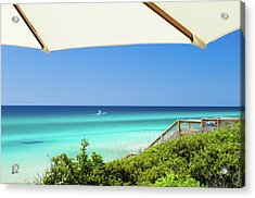 Umbrella View Of Sowal Acrylic Print