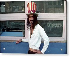 Uncle Zappa Wants You Acrylic Print by Michael Ochs Archives