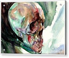 Unconfirmed Skull Acrylic Print