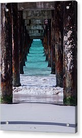 Under The Pier #3 Opf Acrylic Print