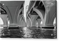Under The Woodrow Wilson Bridge Acrylic Print