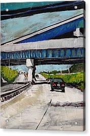Underpass Z Acrylic Print