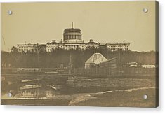 United States Capitol Under Construction Acrylic Print
