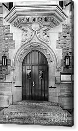 University Of Notre Dame Dillon Hall Acrylic Print