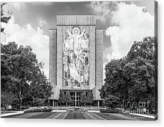 University Of Notre Dame Hesburgh Library Acrylic Print