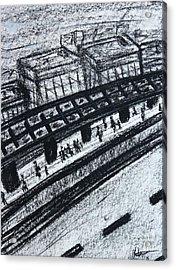 Untitled Sketch I Acrylic Print