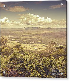 Up Above The Land Down Under Acrylic Print