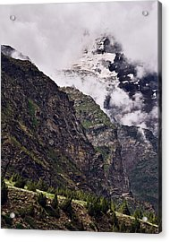 Acrylic Print featuring the photograph Up In The Clouds by Whitney Goodey