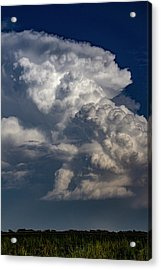Acrylic Print featuring the photograph Updrafts And Anvil 008 by NebraskaSC