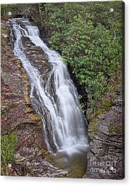 Acrylic Print featuring the photograph Upper Cascade 1 by Patrick M Lynch