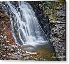 Acrylic Print featuring the photograph Upper Cascade 2 by Patrick M Lynch