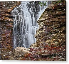 Acrylic Print featuring the photograph Upper Cascade 3 by Patrick M Lynch