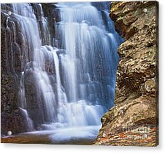 Acrylic Print featuring the photograph Upper Cascade 4 by Patrick M Lynch