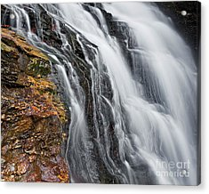 Acrylic Print featuring the photograph Upper Cascade 5 by Patrick M Lynch