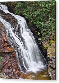 Acrylic Print featuring the photograph Upper Cascade 6 by Patrick M Lynch