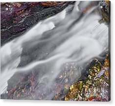 Acrylic Print featuring the photograph Upper Cascade 7 by Patrick M Lynch