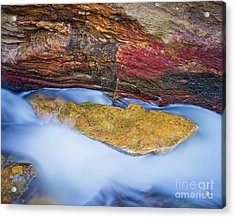 Acrylic Print featuring the photograph Upper Cascade 8 by Patrick M Lynch