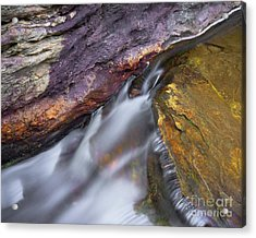 Acrylic Print featuring the photograph Upper Cascade 9 by Patrick M Lynch