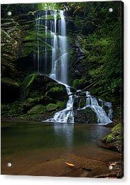 Upper Catawba Falls, North Carolina Acrylic Print