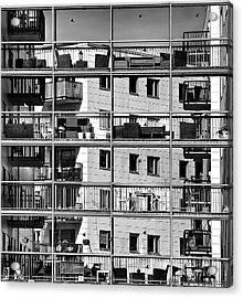 Urban City View, Urban Construction Acrylic Print