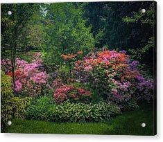 Urban Flower Garden Acrylic Print