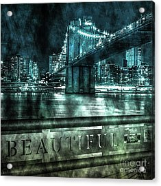 Urban Grunge Collection Set - 05 Acrylic Print
