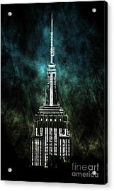 Urban Grunge Collection Set - 10 Acrylic Print