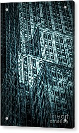 Urban Grunge Collection Set - 11 Acrylic Print
