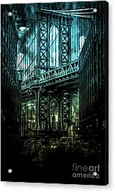 Urban Grunge Collection Set - 12 Acrylic Print