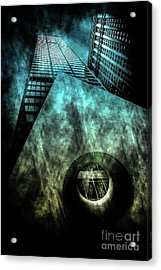 Urban Grunge Collection Set - 14 Acrylic Print