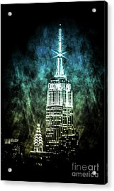 Urban Grunge Collection Set - 16 Acrylic Print