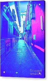 Urban Neon Acrylic Print