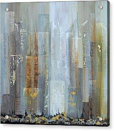 Urban Reflections I Night Version Acrylic Print