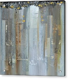 Urban Reflections II Night Version Acrylic Print