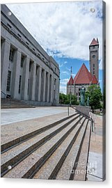 Us Post Office St Louis Acrylic Print