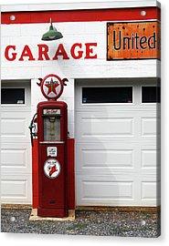 Usa, Gas Station Acrylic Print by Marcel Jolibois