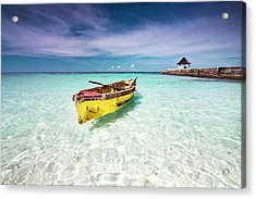 Vacation Acrylic Print by David Neil Madden