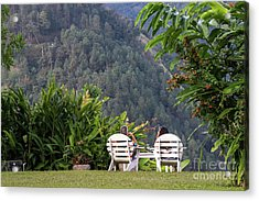 Vacation On Strawberry Hill Acrylic Print