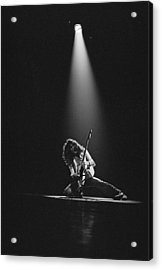 Van Halen Live At The Rainbow Acrylic Print by Fin Costello
