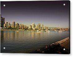 Vancouver In Magical Hours Acrylic Print