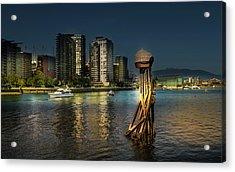 Vancouver Sunset Acrylic Print
