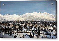 Vancouver Winterscape Acrylic Print