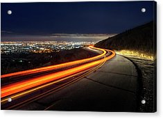 Varooom And Rammstein Over The Silicon Valley Acrylic Print