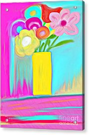 Vase Of Life Acrylic Print